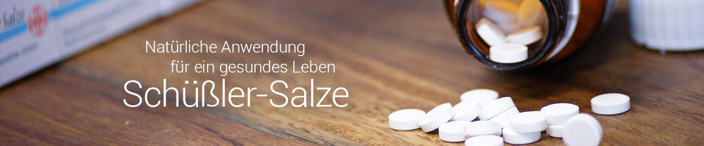 Natürliche Anwendung für ein gesundes Leben - Schüßler-Salze