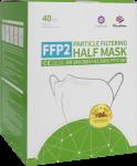Mund- & Atemschutzmasken im Überblick: Filtrierende Halbmaske Typ FFP2 NR - Shengquan