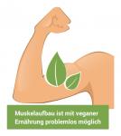 Muskelaufbau & Kraftsport ist mit veganer Ernährung problemlos möglich