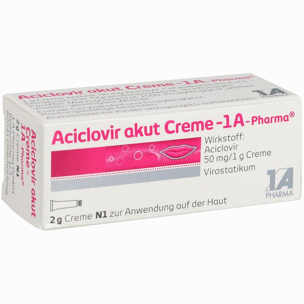 verhindert Aciclovir die Übertragung
