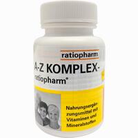 Abbildung von A- Z Komplex- Ratiopharm Tabletten  100 Stück