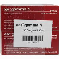 Aar Gamma N 300mg  Dragees 160 Stück