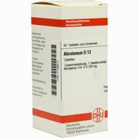 Abrotanum D12  Tabletten 80 Stück