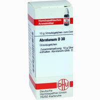 Abrotanum D30  Globuli 10 g