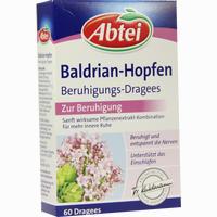 Abtei Baldrian Hopfen Beruhigungs-dragees  Tabletten 60 Stück