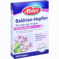 Abtei Baldrian Hopfen Beruhigungs-dragees  Tabletten 120 Stück