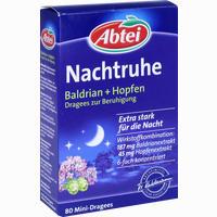 Abtei Baldrian + Hopfen Dragees Zur Beruhigung   80 Stück
