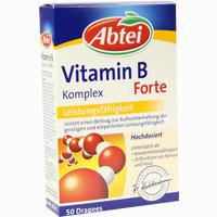 Abtei Vitamin B Komplex Forte  Tabletten 50 Stück