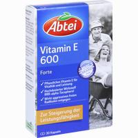 Abtei Vitamin E 600 N Kapseln 30 Stück