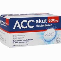 Acc Akut 600  Brausetabletten 20 Stück