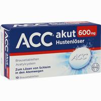 Acc Akut 600  Brausetabletten 10 Stück