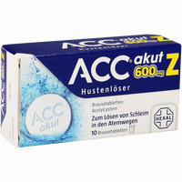 Abbildung von Acc Akut 600 Z Hustenlöser Brausetabletten 10 Stück