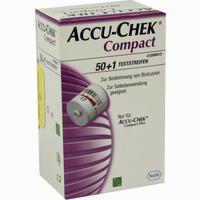 Accu-chek Compact Teststreifen   50 Stück