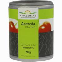 Abbildung von Acerola 100% Natürliches Vitamin C Lutschtabletten 120 Stück