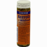 Acerola Und Wildfrucht Vitamin C Lutschtabletten  60 Stück