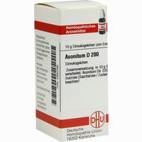 Aconitum D200  Globuli Dhu-arzneimittel 10 g