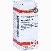 Aconitum D30  Globuli 10 g