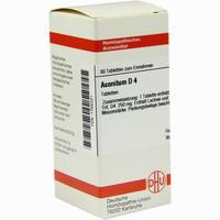 Aconitum D4  Tabletten 80 Stück