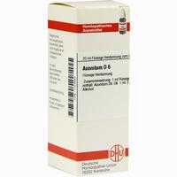 Aconitum D6  Dilution 20 ml