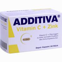 Abbildung von Additiva Vitamin C Depot- Kapseln 300mg  60 Stück