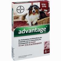 Advantage 250 Hund 4x2,5ml Lösung  4 ST