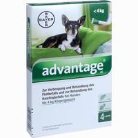 Abbildung von Advantage 40mg Lösung für Hunde  4 Stück