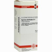 Agaricus Phalloides D4  Dilution 50 ml