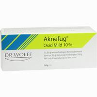 Abbildung von Aknefug-oxid Mild 10% Gel 50 g