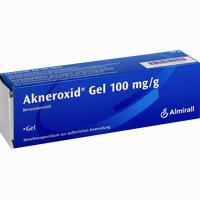 Abbildung von Akneroxid 10 Gel 50 g