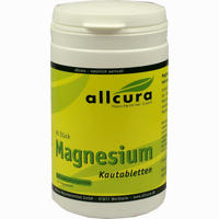 Allcura Magnesium Kautabletten Orangengeschmack  90 Stück