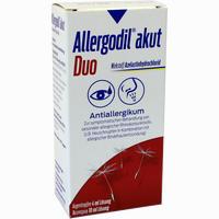 Abbildung von Allergodil Akut Duo 4ml At Akut /10ml Ns Akut Kombipackung 1 Stück