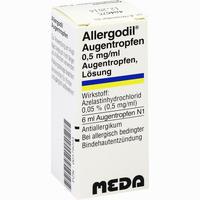 Allergodil Augentropfen   Meda pharma 6 ml