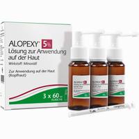 Abbildung von Alopexy 5% Lösung  3 x 60 ml