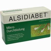 Abbildung von Alsidiabet Diabetiker Mikro- Durchblutung Kapseln 60 Stück