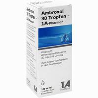 Abbildung von Ambroxol 30 Tropfen- 1a Pharma Lösung 100 ml