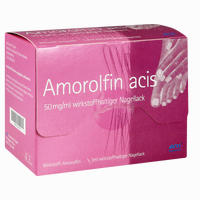 Abbildung von Amorolfin Acis 50mg/Ml Wirkstoffhaltiger Nagellack 3 ml