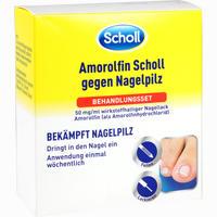 Abbildung von Amorolfin Scholl gegen Nagelpilz Behandlungsset Kombipackung 2.5 ml