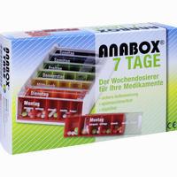Anabox 7 Tage Regenbogen 1 Stück