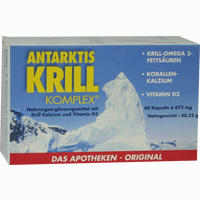 Antarktis Krill Komplex  Kapseln 60 Stück