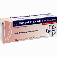 Abbildung von Antifungol Hexal 3 Vaginalcreme  20 g