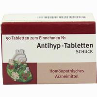 Antihyp-tabletten Schuck   50 Stück