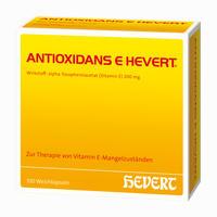 Antioxidans E Hevert Kapseln   100 Stück