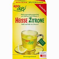 Apoday Heisse Zitrone Vit.C U.Calcium Zf Pulver 10X10 g