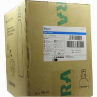 Aqua B.braun Ecolav  Spüllösung 20X100 ml