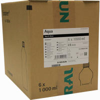 Aqua B.braun Spüllösung Kunststoff Flasche  6X1000 ml