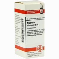 Argentum Nitricium D10  Globuli 10 g
