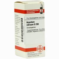 Argentum Nitricium D200  Globuli 10 g