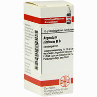 Argentum Nitricium D8  Globuli 10 g