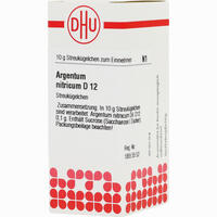 Argentum Nitricum D12 Globuli  10 g