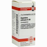 Argentum Nitricum D30 Globuli  10 g
